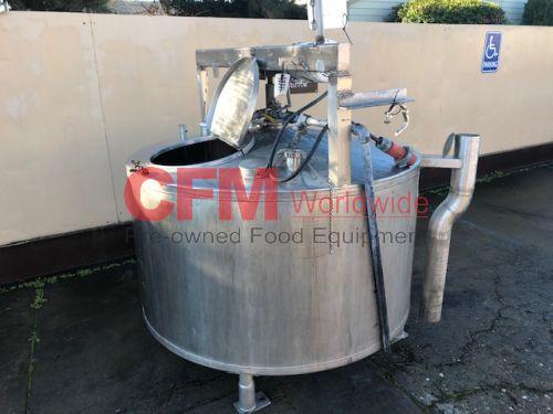 400 gallon stainless steel mix tank