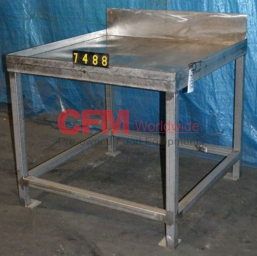 Stainless Steel Work Table - Tall stainless steel table