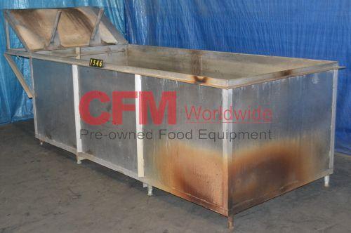1000 gallon stainless steel rectangular tank